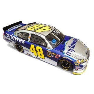 #48 Jimmie Johnson 2011 Mylowes 1/24 Nascar Diecast Car Chevy Impala Action Platinum Series Lnc  Sports Fan Toy Vehicles  Sports & Outdoors