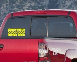 Zombie Response Vehicle 01VD Vinyl Decal Car or Wall Sticker Mural   Wall Decor Stickers