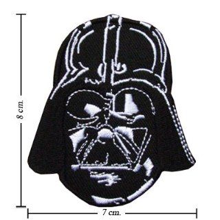 Star Wars Darth Vader Logo I Embroidered Sew Iron on Patches Great Gift for Dad Mom Man Woman