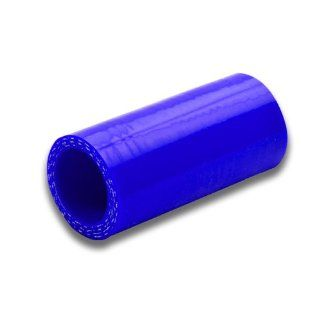 "DPT, SH 15 BL, 1.5"" Straight 3 Ply 4mm Thickness High Temperature Performance Blue Silicone Hose Coupler Connector for Turbo Exhaust Intake Intercooler Automotive"