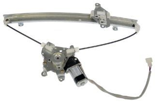 Dorman 741 996 Front Driver Side Replacement Power Window Regulator with Motor for Mitsubishi Lancer Automotive