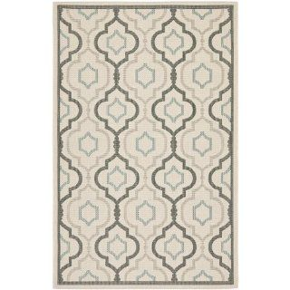 Safavieh CY7938 79A18 Courtyard Collection Indoor/Outdoor Area Rug, 9 Feet by 12 Feet, Beige and Dark Beige