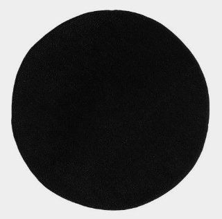 Ikea Saxan Round Bath Bathroom Mat Rug Black