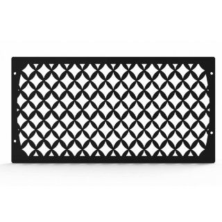 Ferreus Industries   Honda Valkyrie GL1500 Diamond Mesh Black Powdercoated Radiator Grille   GRL 101 10black Automotive