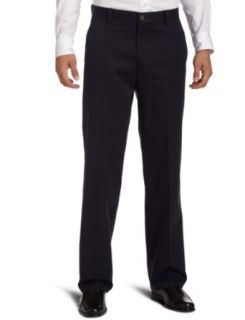 Dockers Mens D3 Flat Front New Iron Free Khaki Pant, After Dark, 30x32 at  Men�s Clothing store