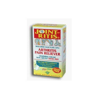 Joint Ritis Arthritis Pain Reliever Greaseless Vanishing Cream, Odor Free   4.2 Oz Health & Personal Care