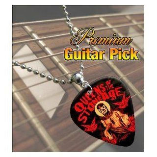 Printed Picks Company Queens Of The Stone Age Premium Guitar Pick Necklace Musical Instruments