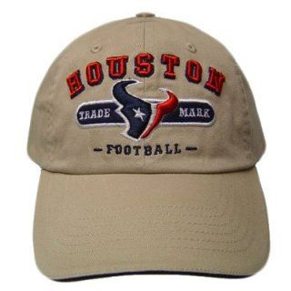 NFL HOUSTON TEXANS KHAKI CAP HAT YOUTH KIDS SIZE ADJ  Sports Fan Baseball Caps  Sports & Outdoors