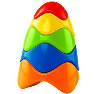 O Ball Anyway Stacker Toy  Baby Shape And Color Recognition Toys  Baby