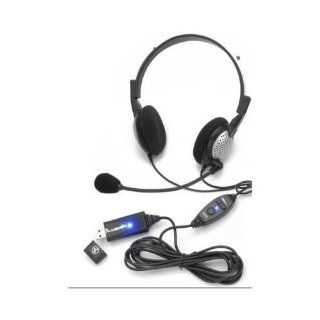 Andrea Headsets AND NC185VMUSB High Quality Digital Stereo USB Headset   NEW   White Box   AND NC185VMUSB Electronics