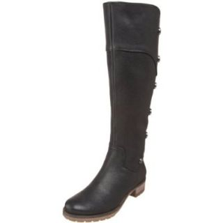 GUESS by Marciano Women's Taja Knee High Boot, Black, 5 M US Shoes