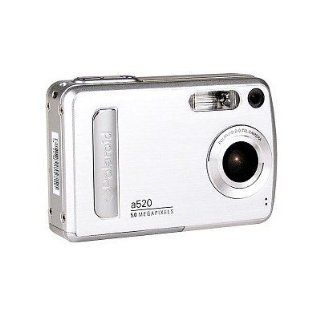POLAROID A520   5.0 MEGAPIXEL DIGITAL CAMERA WITH 4X ZOOM. SILVER. PERFECT GIFT FOR ANYONE.  Point And Shoot Digital Camera Bundles  Camera & Photo
