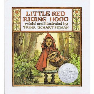 Little Red Riding Hood Trina Schart Hyman, Jacob Grimm, Wilhelm Grimm 9780823404704 Books
