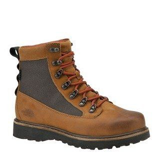 The North Face Mens Bridger Camel Brown/Slickrock Red   10.5 D(M) US Hiking Boots Shoes