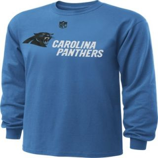 Carolina Panthers Youth Stadium Authentic Long Sleeve T Shirt