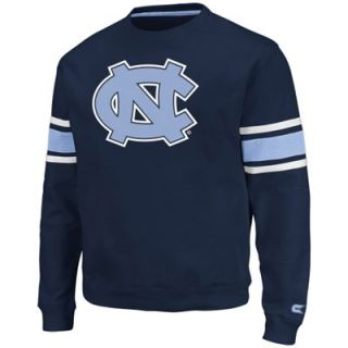 North Carolina Tar Heels (UNC) Skyline Fleece Sweatshirt   Navy Blue