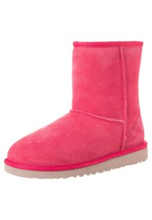 UGG Australia   KIDS CLASSIC SHORT   Boots   red