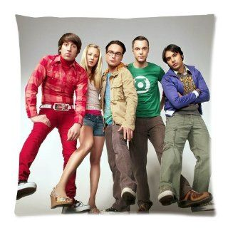 Custom The Big Bang Theory Pillowcase Standard Size 18x18 Cotton Pillow Case P3242