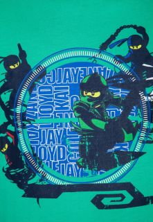 LEGO Wear Print T shirt   green