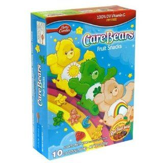 Betty Crocker Fruit Flavored Snacks Care Bears, 10 Count (Pack of 6)  Gummy Candy  Grocery & Gourmet Food