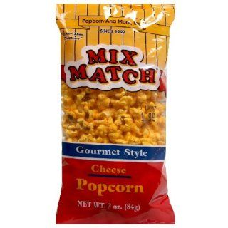 Mix Match Gourmet Cheese Popcorn, 3 Ounce (Pack of 9)  Snack Food  Grocery & Gourmet Food