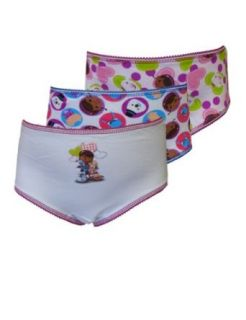 WebUndies Girls Disney Doc McStuffins Brief Panties (3 Pack) Clothing