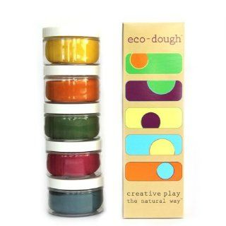 Eco Kids Natural Plant Dye Modeling Dough(Contains Gluten) Children, Kids, Game Toys & Games