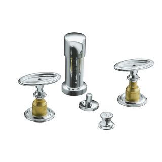 KOHLER Antique Polished Chrome Vertical Spray Bidet Faucet