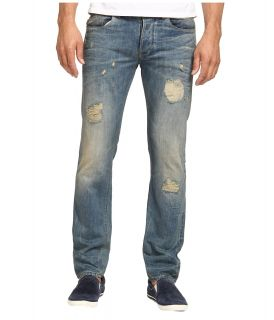Armani Jeans Armani Jeans   Italian Made Regular Fit Selvage Denim Mens Jeans (Blue)