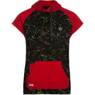 Splatter Mens Hoodie Black In Sizes Xx Large, X Large, Medium, Small, L