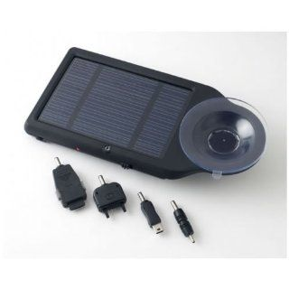 Do it Wiser In Car Solar Charger Easy to Attach to Any Window in Your Car   Charge Different Devices iPhone, Mobile Phones, GPS, Cameras, PDA, Portable DVD Players   Includes Mobile Phone Connectors Cell Phones & Accessories