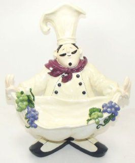 Jolly Fat Italian Chef Fruit Bowl  Decorative Bowls