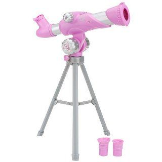 Edu Science 50mm Telescope   Land & Sky II   Pink Toys & Games