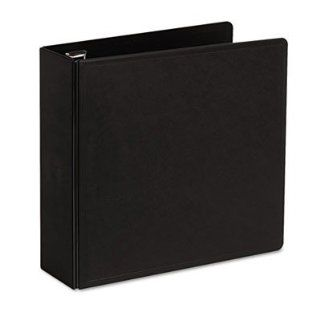 "Cardinal Brands, Inc Products   Slant D Ring Binder, Heavy Duty, 3"" Capacity, Black   Sold as 1 EA   SuperLife Slant D Ring Binder is made from heavy duty, injection molded polypropylene with dual fold living hinge cover. Will not crack or break, even"