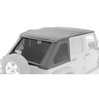 Bestop� 56820 35 Black Diamond Trektop(TM) NX Complete Replacement Soft Top with No Doors Included  Tinted Windows   1997 2006 Jeep Wrangler (except Unlimited) Automotive