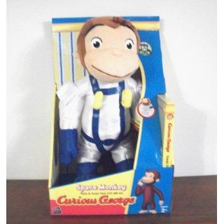 Curious George Space Monkey Huggable Plush Toys & Games