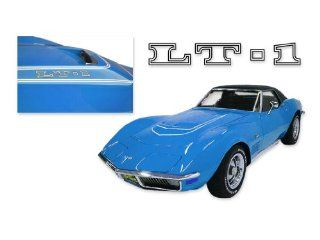 1970 1971 1972 Chevrolet Corvette Stencil Decals & Even Stripes Kit   SILVER Automotive