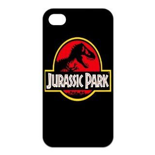 Mystic Zone Jurassic Park iPhone 4 Case for iPhone 4/4S Cover Famous Film Fits Case KEK0780 Cell Phones & Accessories
