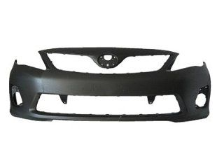 2013 Toyota Corolla Front Bumper Painted 1G3 Magnetic Gray Metallic, All models EXCEPT S/XRS & Japan Built Automotive