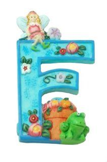 "MARY ENGELBREIT Decorative Alphabet Letter Super Magnet ~ ""F"" ~ Frog ~ Flower ~ Fairy Refrigerator Magnets Kitchen & Dining"