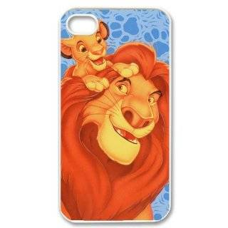 Well designed Mufasa Simba The Lion King iPhone 4/4s Plastic Hard Case Durable iPhone 4/4s Hard Case Cover Cell Phones & Accessories