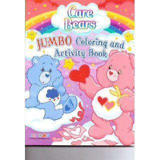 Care Bears Jumbo Coloring & Activity Book ~ Love a Lot Gives a Heart to Grumpy American Greetings Books
