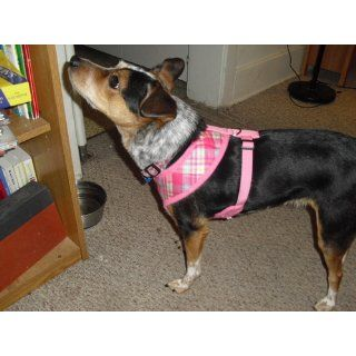 Puppia Soft Dog Harness Spring Pink Large  Pet Halter Harnesses