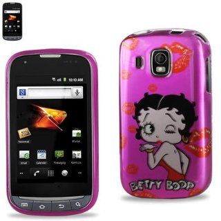 Reiko 2DPC SAMM930 B296 Betty Boop Premium Durable Protective Case for Samsung Transform Ultra M930   1 Pack   Retail Packaging   Pink Cell Phones & Accessories