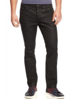 Kenneth Cole Reaction Coated Super Slim Fit Jeans   Jeans   Men