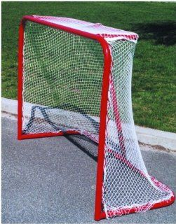 Goal Sports Heavy Duty Steel Street Hockey Goal   4 x 6 ft.  Hockey Nets  Sports & Outdoors