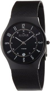 SKAGEN Wrist watch basic titanium mens 233XLTMB Case Width  37mm for men (Japan Import) Watches