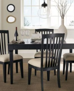 Captiva Dining Room Furniture, 5 Piece Set (Rectangular Table and 4 Side Chairs)   Furniture