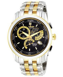 Citizen Mens Eco Drive Stainless Steel Bracelet Watch  BL8004 53E   Watches   Jewelry & Watches