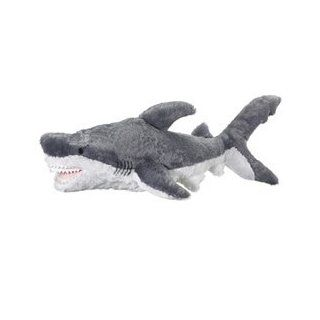 Jumbo Great White Stuffed Shark Giant Huge Large Shark Plush By Wild Life Artist Toys & Games